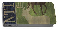 Hunting Portable Battery Charger by Debbie DeWitt