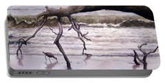 Hunting Island Sculpture Portable Battery Charger