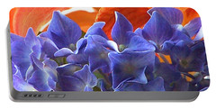 Hyacinth With Flames Portable Battery Charger