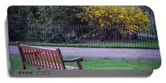 Hyde Park Bench - London Portable Battery Charger