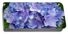 Portable Battery Charger featuring the photograph Hydrangea Heaven by Beth Saffer