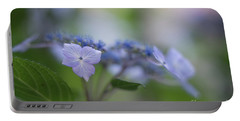 Hydrangeas Dream Portable Battery Charger by Mike Reid