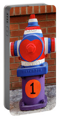 Portable Battery Charger featuring the photograph Hydrant Number One by James Eddy