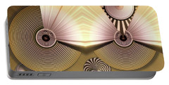 Hypnotic Portable Battery Charger by Ron Bissett