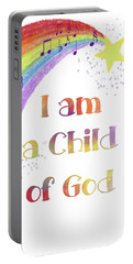 I Am A Child Of God 3 Portable Battery Charger