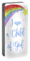 I Am A Child Of God Portable Battery Charger