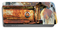 Portable Battery Charger featuring the photograph I Am A Little Rusty by Christopher McKenzie