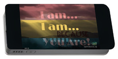 I Am Because You Are Portable Battery Charger