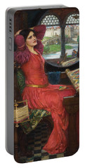 I Am Half Sick Of Shadows Said The Lady Of Shalott Portable Battery Charger