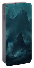 I Am Providence Portable Battery Charger by Guillem H Pongiluppi