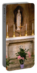I Am The Immaculate Conception - Tiny Chapel On Crypt Level Portable Battery Charger
