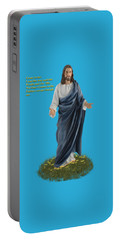 I Am The Way John 14 6 Portable Battery Charger