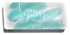 I Am Yours Portable Battery Charger