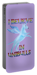 I Believe In Unibulls Portable Battery Charger