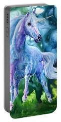 I Dream Of Unicorns Portable Battery Charger by Sherry Shipley