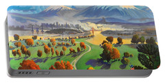 I Dreamed America Portable Battery Charger by Art James West