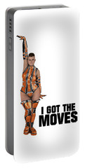 I Got The Moves Portable Battery Charger