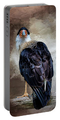 I Have Got  My Eye On You Portable Battery Charger by Cyndy Doty