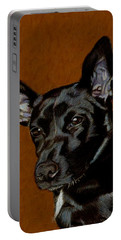 I Hear Ya - Dog Painting Portable Battery Charger