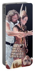 Roderick Paintings Portable Battery Chargers
