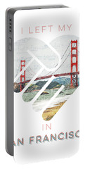 I Left My Heart In San Fransisco Portable Battery Charger