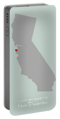 I Left My Heart In Sf Portable Battery Charger