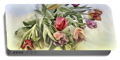 I Like Tulips Portable Battery Charger