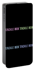 I Listen To The Voices In My Tackle Box Pop Portable Battery Charger