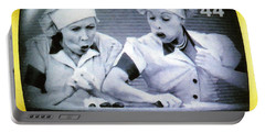 I Love Lucy Portable Battery Charger by Lanjee Chee