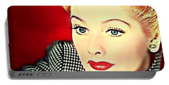 I Love Lucy Portable Battery Charger by Wbk