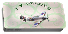 I Love Planes - Hurricane Portable Battery Charger