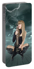 I Love Rock And Roll Portable Battery Charger