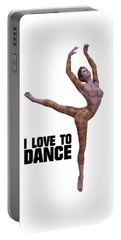 I Love To Dance Portable Battery Charger