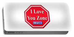 I Love You Zone Portable Battery Charger