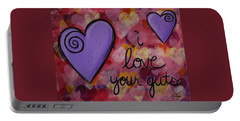 I Love Your Guts Portable Battery Charger