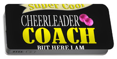 I Never Dreamed I Would Grow Up To Be A Super Cool Cheerleader Coach But Here I Am Killing It Portable Battery Charger