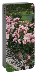 ...........i Never Promised You A Rose Garden Portable Battery Charger by Martina Fagan