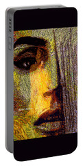 Portable Battery Charger featuring the digital art I See Everything  by Rafael Salazar