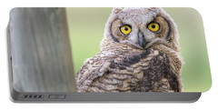 I See You Portable Battery Charger by Scott Warner