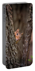 Portable Battery Charger featuring the photograph I See You by Susan Rissi Tregoning