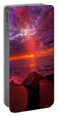 Portable Battery Charger featuring the photograph I Still Believe In What Could Be by Phil Koch