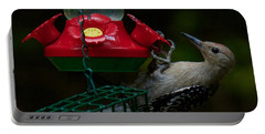 Portable Battery Charger featuring the photograph I Want To Be A Hummingbird by Robert L Jackson