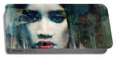 Portable Battery Charger featuring the mixed media I Want To Know What Love Is  by Paul Lovering