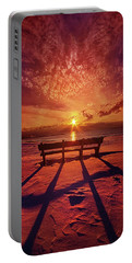 I Will Always Be With You Portable Battery Charger by Phil Koch