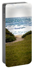 I Will Follow - Ocean Photography Portable Battery Charger