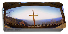 I Will Lift My Eyes To The Hills Psalm 121 1 Portable Battery Charger