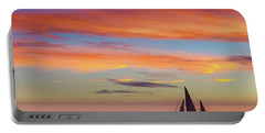 I Will Sail Away, And Take Your Heart With Me Portable Battery Charger