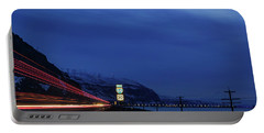 Portable Battery Charger featuring the photograph I84 by Cat Connor