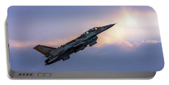 Iaf F-16i Sufa Nr. 107 Portable Battery Charger
