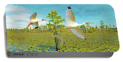 Ibis At Okefenokee Portable Battery Charger